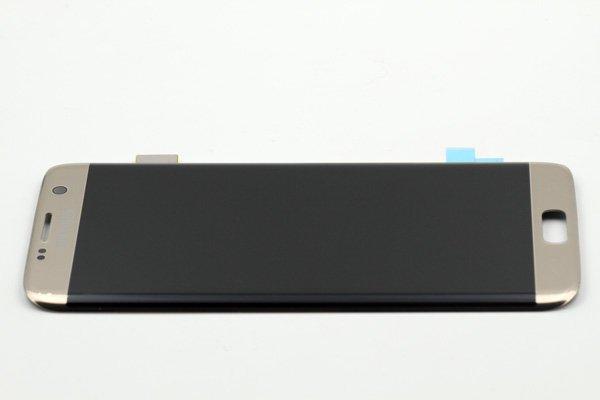 Galaxy S7 Edge (SM-G935F) フロントパネル ゴールド [6]