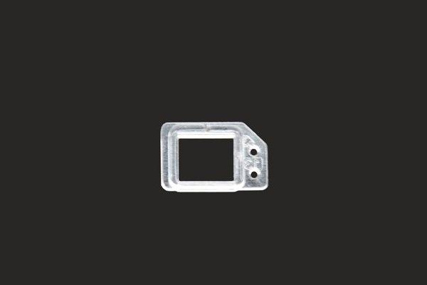 【ネコポス送料無料】iPhone6s フロントパネル用 クリアパーツセット [3]