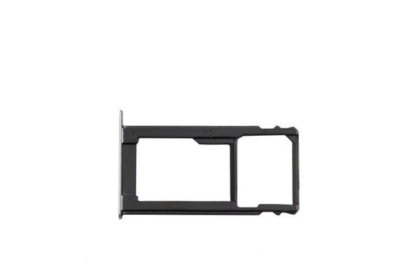 【ネコポス送料無料】Huawei GR5 SIMカードトレイセット シルバー [1]