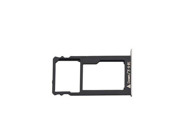 【ネコポス送料無料】Huawei GR5 SIMカードトレイセット シルバー [2]