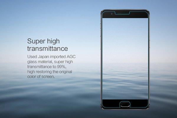 【ネコポス送料無料】OnePlus 3 強化ガラスフィルム ナノコーティング 硬度9H [3]