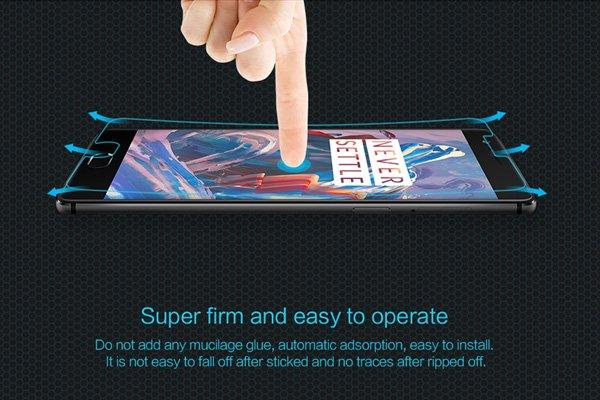 【ネコポス送料無料】OnePlus 3 強化ガラスフィルム ナノコーティング 硬度9H [6]