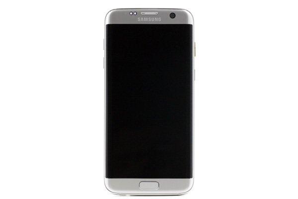 Galaxy S7 Edge (SM-G935F) フロントパネルASSY シルバー [1]