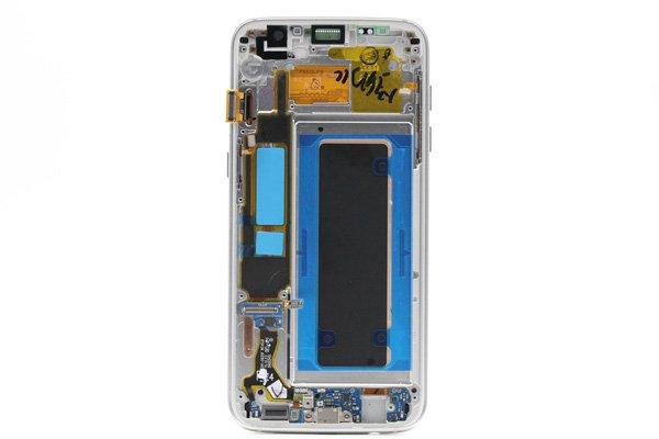 Galaxy S7 Edge (SM-G935F) フロントパネルASSY シルバー [2]