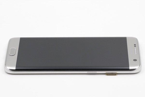 Galaxy S7 Edge (SM-G935F) フロントパネルASSY シルバー [6]