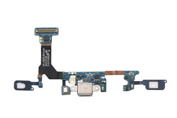 【ネコポス送料無料】Galaxy S7 (SM-G930F) マイクロUSBコネクターケーブルASSY [1]