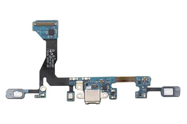 【ネコポス送料無料】Galaxy S7 Edge (SM-G935F) マイクロUSBコネクターケーブルASSY [1]