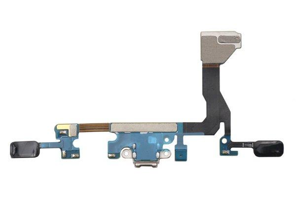 【ネコポス送料無料】Galaxy S7 Edge (SM-G935F) マイクロUSBコネクターケーブルASSY [2]