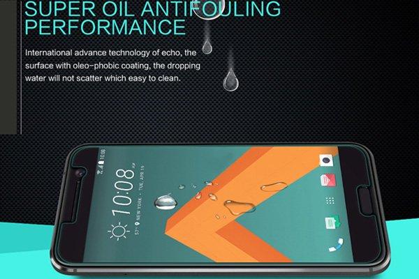 【ネコポス送料無料】HTC 10 強化ガラスフィルム ナノコーティング 硬度9H  [4]
