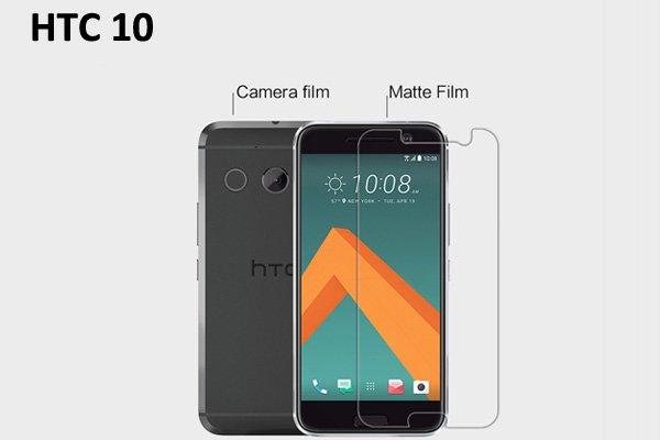 【ネコポス送料無料】HTC 10 液晶保護フィルムセット アンチグレアタイプ  [1]
