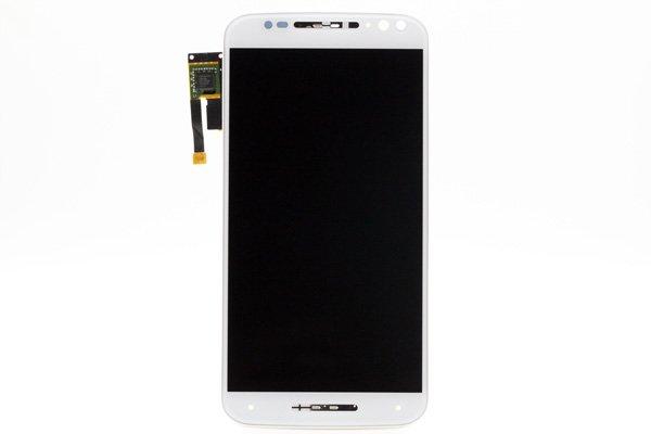 Motorola Moto X Style (XT1572) フロントパネルASSY 交換修理 ホワイト [1]