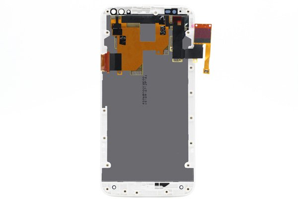 Motorola Moto X Style (XT1572) フロントパネルASSY 交換修理 ホワイト [2]