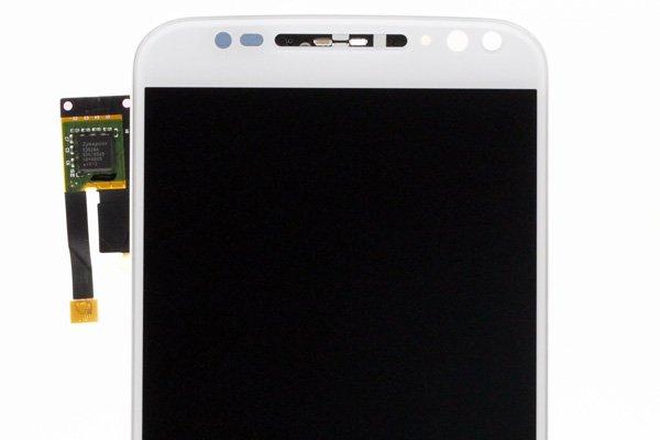 Motorola Moto X Style (XT1572) フロントパネルASSY 交換修理 ホワイト [3]