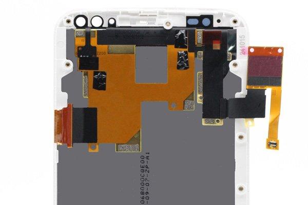 Motorola Moto X Style (XT1572) フロントパネルASSY 交換修理 ホワイト [4]