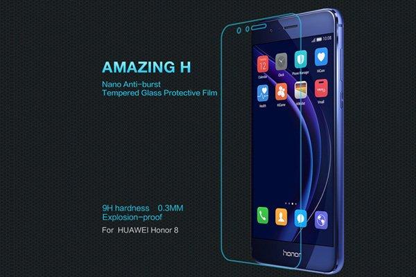 【ネコポス送料無料】Huawei Honor 8 強化ガラスフィルム ナノコーティング 硬度9H  [1]
