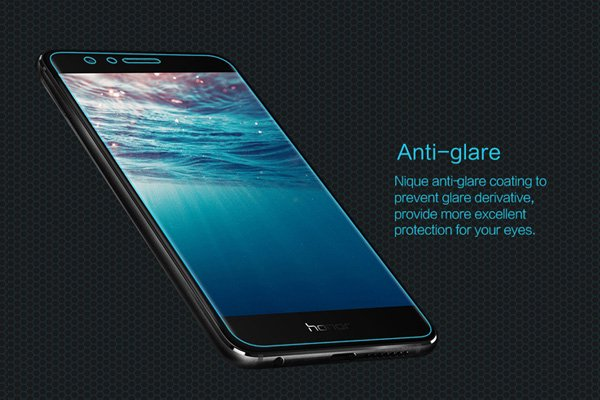 【ネコポス送料無料】Huawei Honor 8 強化ガラスフィルム ナノコーティング 硬度9H  [3]