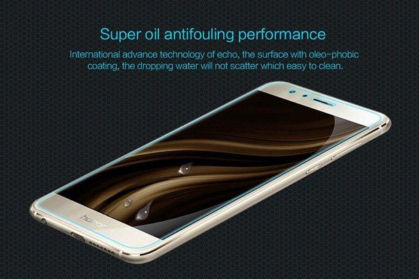 【ネコポス送料無料】Huawei Honor 8 強化ガラスフィルム ナノコーティング 硬度9H  [4]