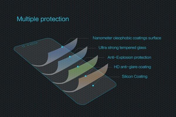 【ネコポス送料無料】Huawei Honor 8 強化ガラスフィルム ナノコーティング 硬度9H  [6]