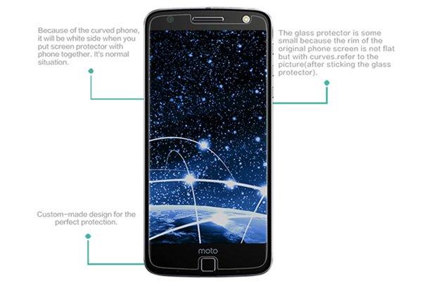 【ネコポス送料無料】Motorola Moto Z 強化ガラスフィルム ナノコーティング 硬度9H [7]