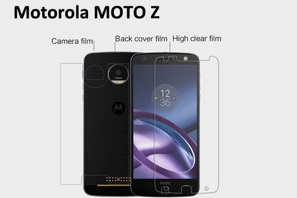 【ネコポス送料無料】Motorola Moto Z 液晶保護フィルムセット クリスタルクリアタイプ  [1]