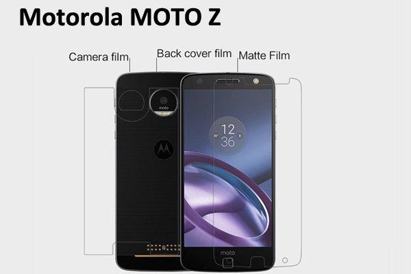 【ネコポス送料無料】Motorola Moto Z 液晶保護フィルムセット アンチグレアタイプ  [1]