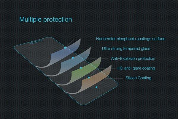 【ネコポス送料無料】Zenfone3 (ZE552KL) 強化ガラスフィルム ナノコーティング 硬度9H  [6]