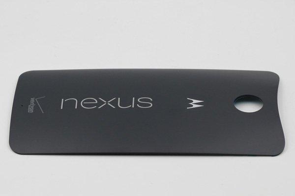 【ネコポス送料無料】Nexus6 バックカバー Verizon版 ミッドナイトブルー [4]