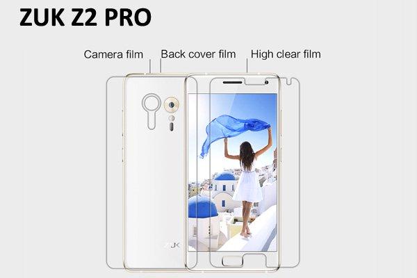 【ネコポス送料無料】ZUK Z2 PRO 液晶保護フィルムセット クリスタルクリアタイプ [1]