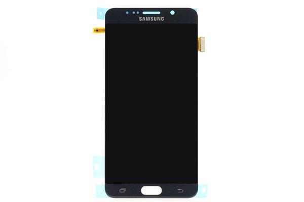 Galaxy Note5 (SM-N9200) フロントパネル ブラック [1]