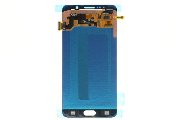 Galaxy Note5 (SM-N9200) フロントパネル ブラック [2]