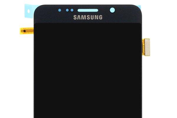 Galaxy Note5 (SM-N9200) フロントパネル ブラック [3]