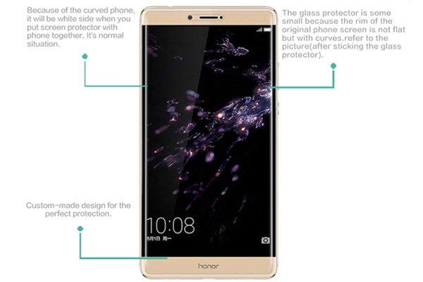 【ネコポス送料無料】Huawei Honor Note8 強化ガラスフィルム ナノコーティング 硬度9H  [7]