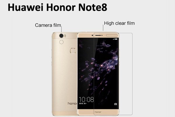 【ネコポス送料無料】Huawei Honor Note8 液晶保護フィルムセット クリスタルクリアタイプ  [1]