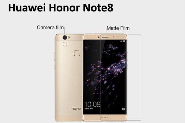 【ネコポス送料無料】Huawei Honor Note8 液晶保護フィルムセット アンチグレアタイプ  [1]