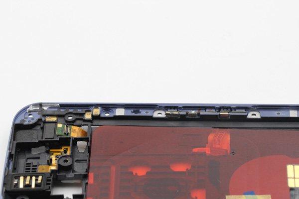【ネコポス送料無料】Google Nexus6 ミドルフレームASSY 全2色 [8]