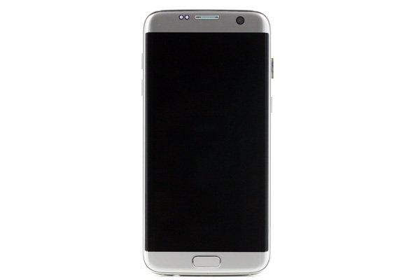 Galaxy S7 Edge (SM-G9350) フロントパネルASSY シルバー [1]