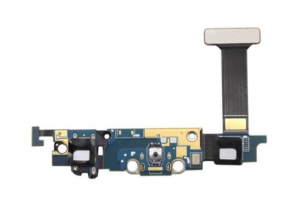 【ネコポス送料無料】Galaxy S6 Edge (SM-G925F) マイクロUSBコネクターケーブルASSY [2]
