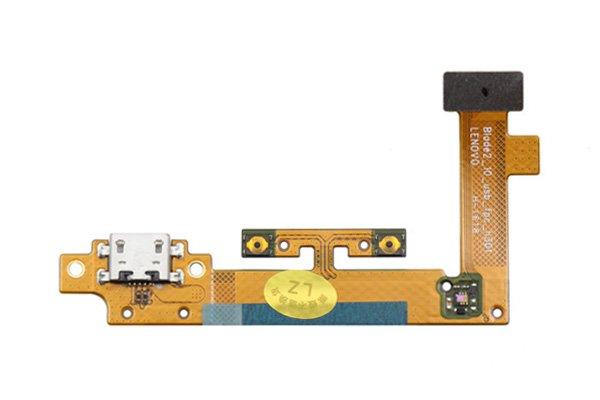 【ネコポス送料無料】Lenovo YOGA Tablet2-1051F マイクロUSBコネクターケーブルASSY [1]