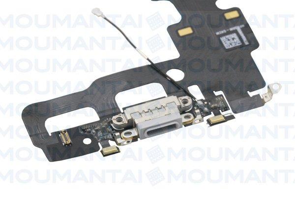 【ネコポス送料無料】iPhone7 ライトニングコネクターケーブル シルバー [3]