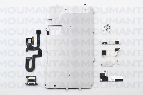 【ネコポス送料無料】iPhone7 Plus フロントパネル用パーツセット [1]