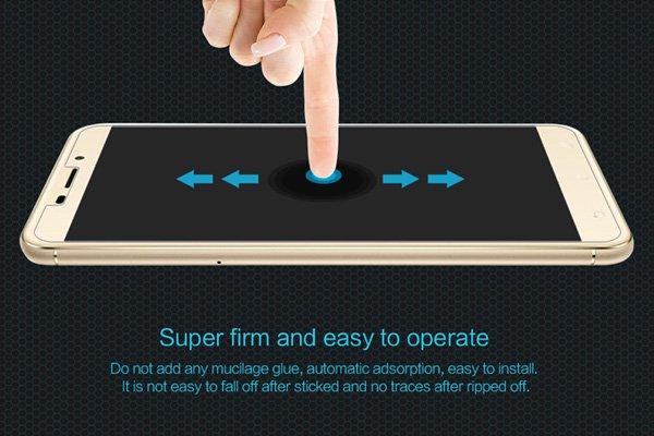 【ネコポス送料無料】Zenfone3 Laser (ZC551KL) 強化ガラスフィルム ナノコーティング 硬度9H  [5]