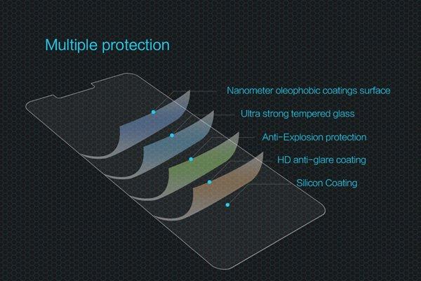 【ネコポス送料無料】Zenfone3 Laser (ZC551KL) 強化ガラスフィルム ナノコーティング 硬度9H  [6]
