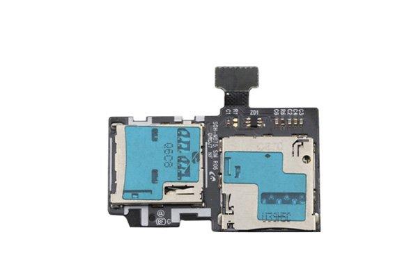 【ネコポス送料無料】SAMSUNG Galaxy J (SC-02F) SIM & マイクロSDケーブルASSY [1]