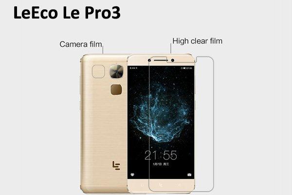 【ネコポス送料無料】LeEco Le Pro 3 液晶保護フィルムセット クリスタルクリアタイプ