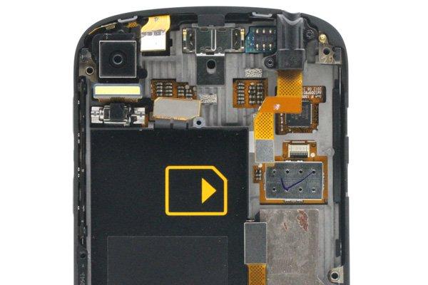 Blackberry Q10 フロントパネル & キーボード & フレームセット 全2色 [11]