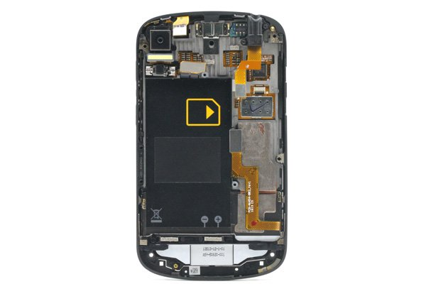 Blackberry Q10 フロントパネル & キーボード & フレームセット 全2色 [3]