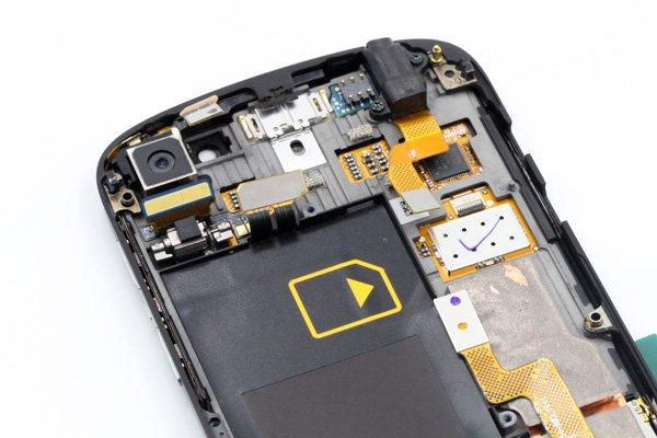 Blackberry Q10 フロントパネル & キーボード & フレームセット 全2色 [8]