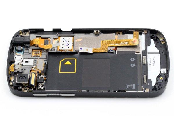 Blackberry Q10 フロントパネル & キーボード & フレームセット 全2色 [9]