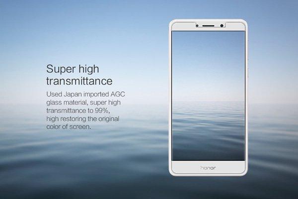 【ネコポス送料無料】Huawei Honor 6X 強化ガラスフィルム ナノコーティング 硬度9H  [4]