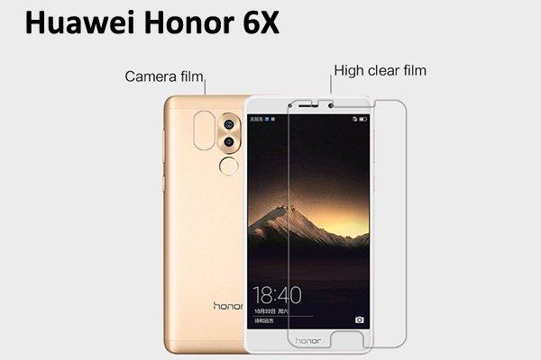 【ネコポス送料無料】Huawei Honor 6X 液晶保護フィルムセット クリスタルクリアタイプ  [1]